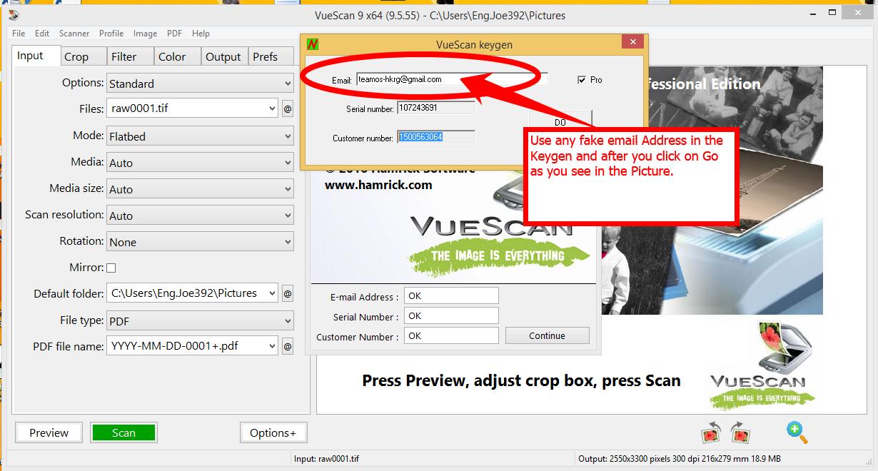 Direct - Vuescan Pro 9 5 55 With Patch/keygen [x86/x64]   Team OS