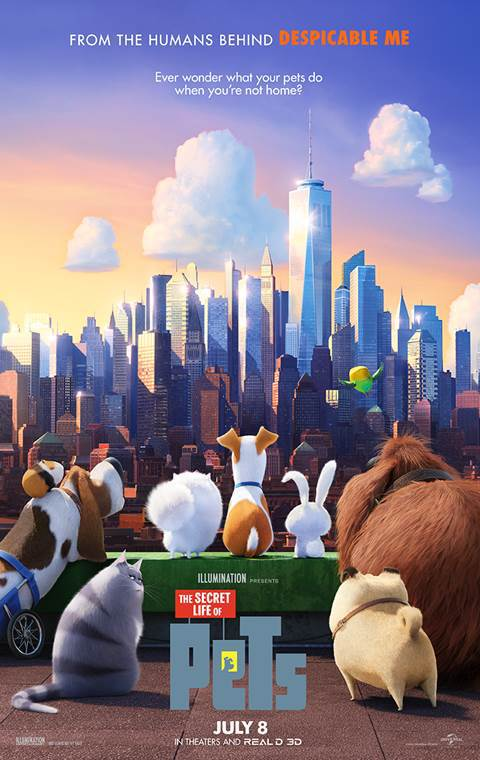The Secret Life of Pets 2016 720p BluRay x264 [Dual Audio] [Hindi DD 5.1 – English DD 5.1] – 988 MB