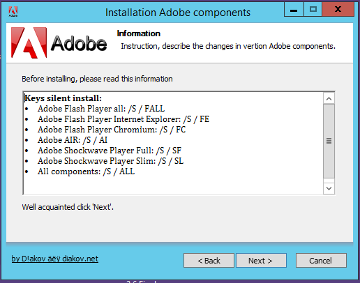 Direct - Adobe Components:flash Player + Air + Shockwave Player