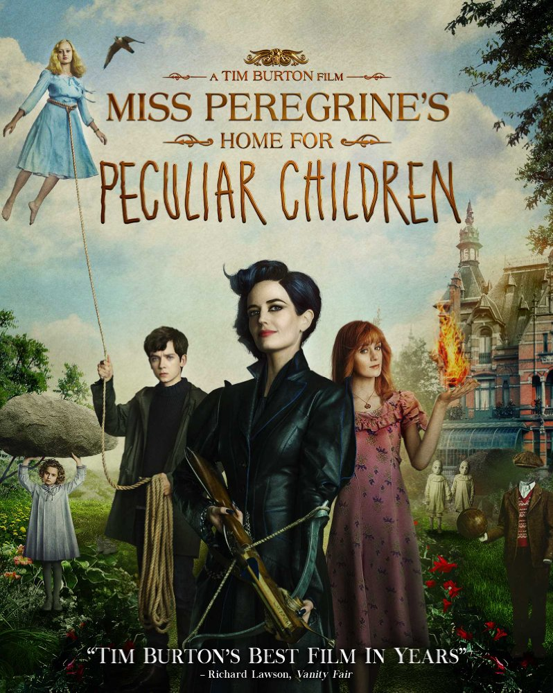 Miss Peregrines Home for Peculiar Children 2016 720p Bluray Dual Audio (Hindi + English) Download