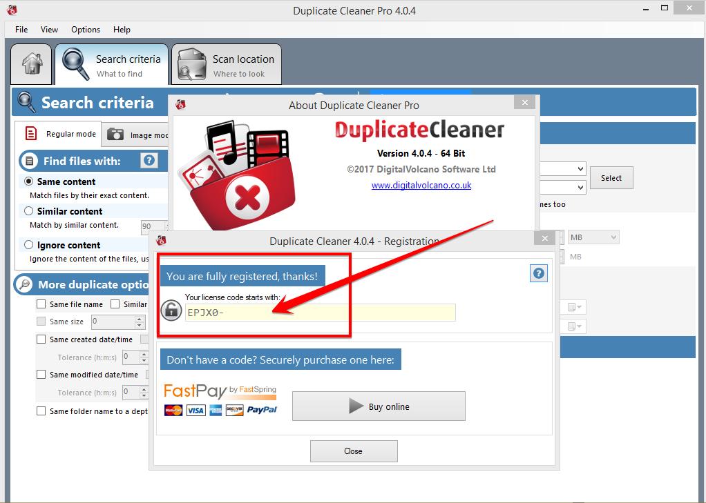 duplicate cleaner pro keygen