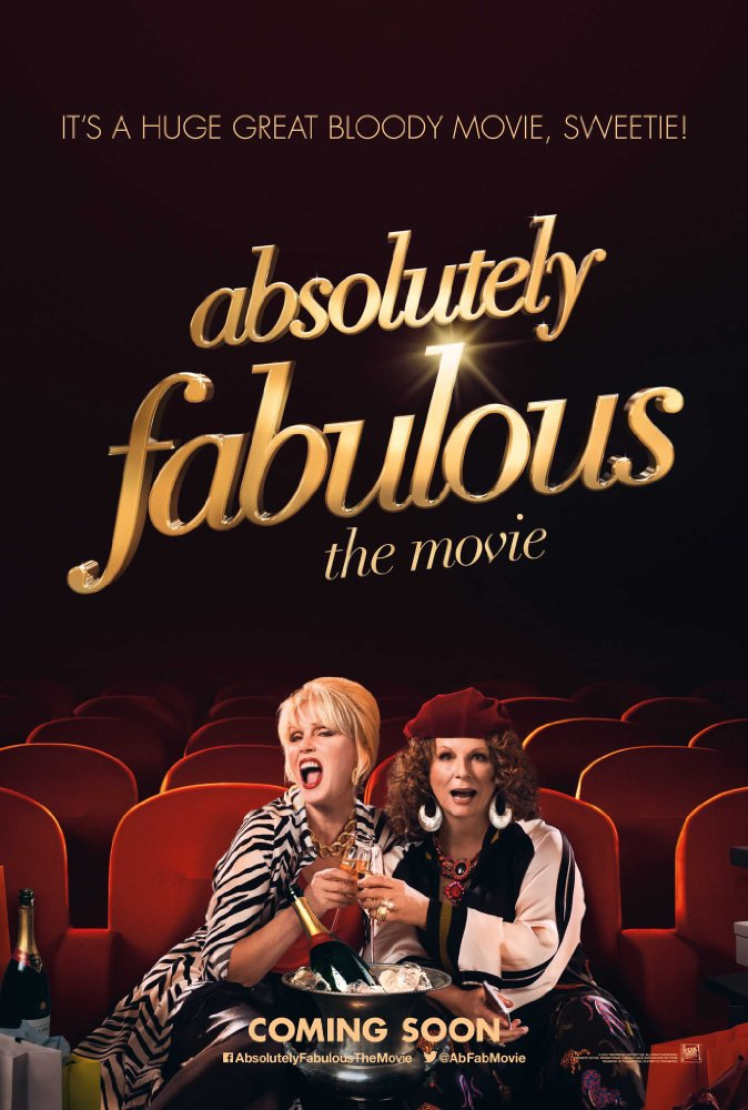 Absolutely Fabulous The Movie 2016 720p Bluray Dual Audio Hindi + English