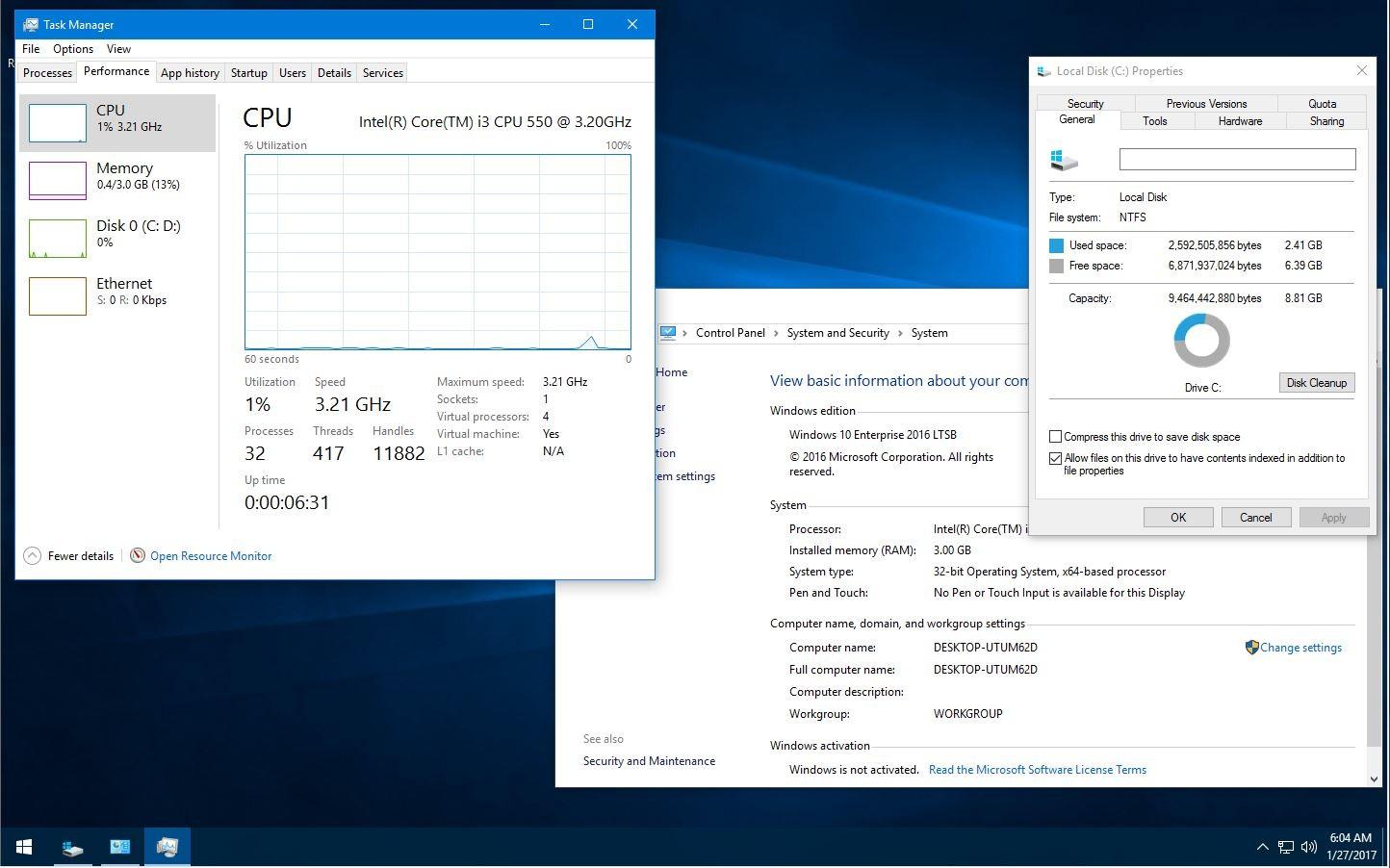 Microsoft Windows 10 Enterprise 2016 Ltsb 14393 726 X86-x64