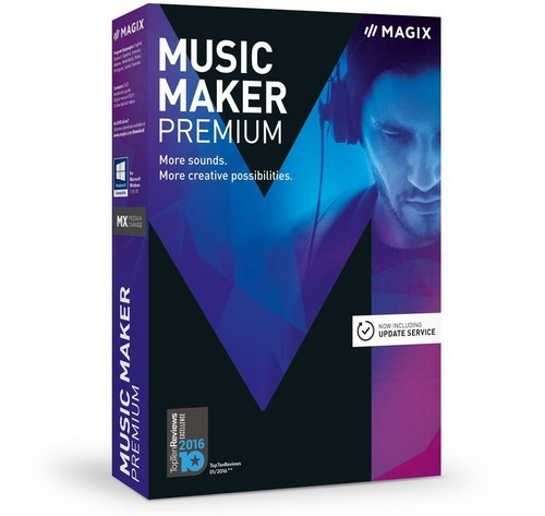 MAGIX Music Maker 2017 Premium 24.0.2.46