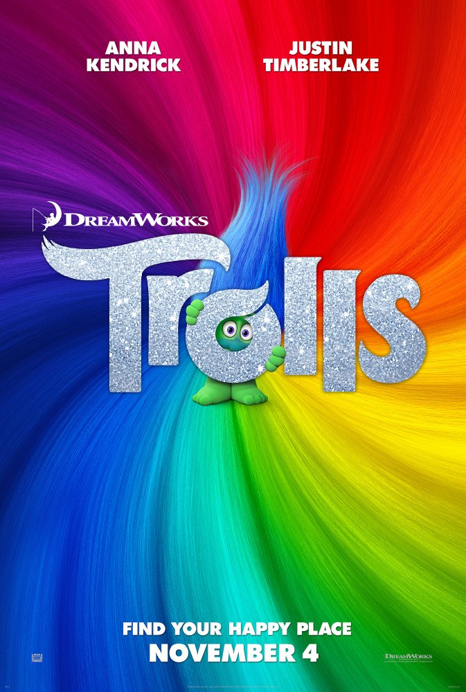 Trolls (2016) 720p BluRay x264 [Dual Audio] [Hindi+English] - M2Tv