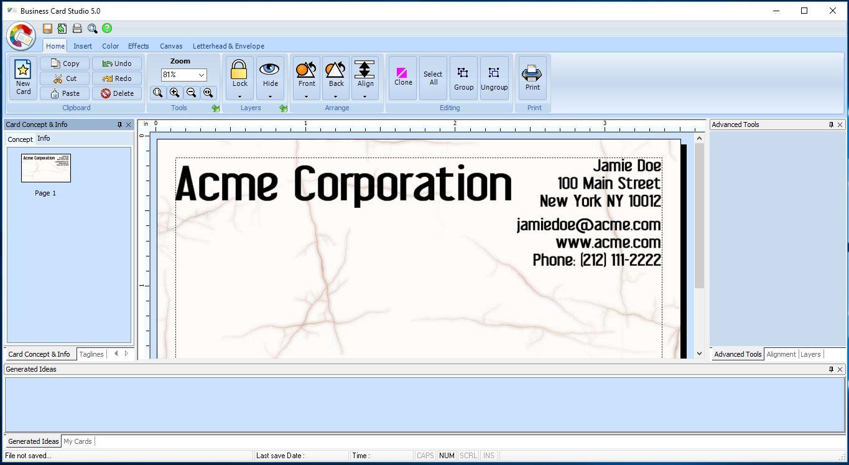 Resultado de imagen para Summitsoft Business Card Studio Pro