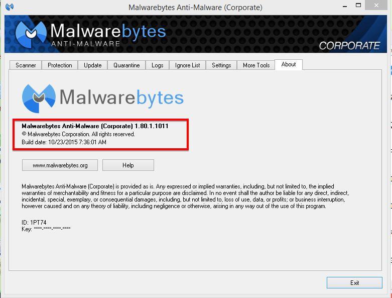 malwarebytes premium trial 3.1.2 license key