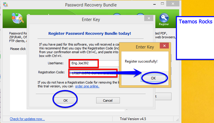 daossoft password recovery bundle 2012 professional registration code