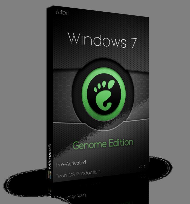 Windows 7 Genome Edition 64bit 2014 Incl Activator