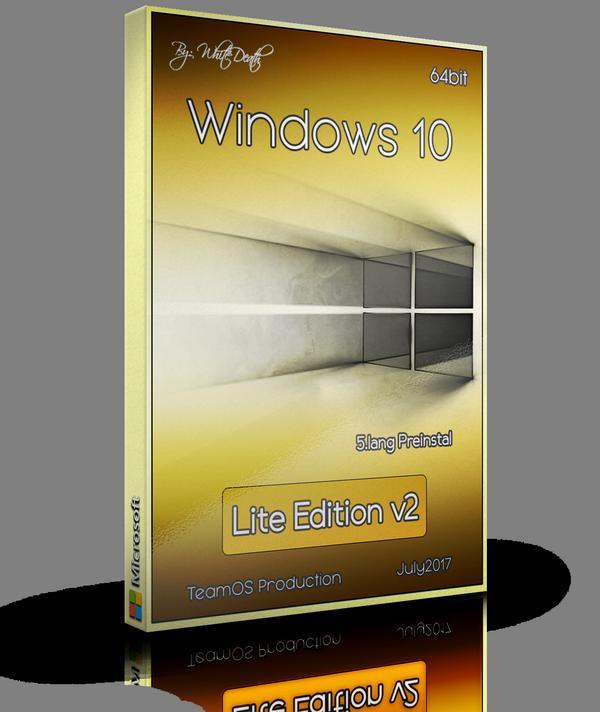 Windows 10 Lite Edition V2 X64 Multilang 15063.483 English 2017
