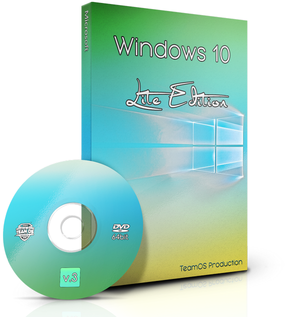 Windows 10 Lite Edition V3 Multilang (X64/X86) Preactivated 2017