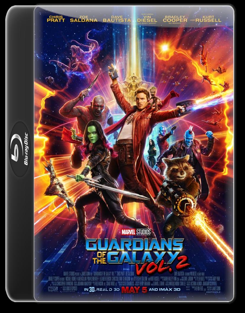 Guardians of the Galaxy Vol 2 (2017) Dual Audio 720p BluRay ESubs Hindi English DD 5 1 By R@ck!