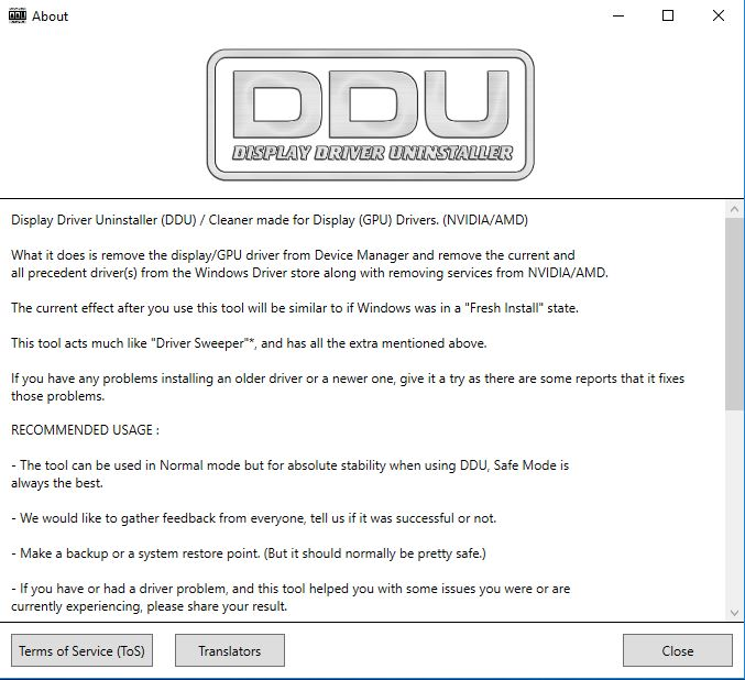 display driver uninstaller reddit