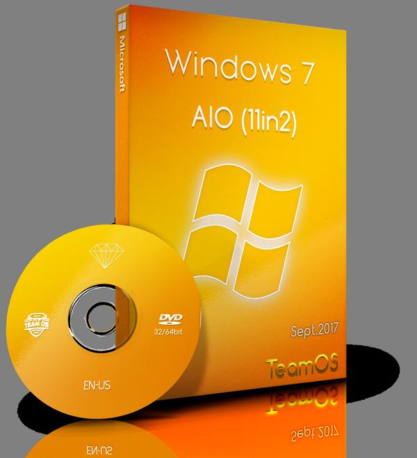 Windows 7 Sp1 AIO (x86x64) 11in1 en-us Sept2017-=TEAM OS=-