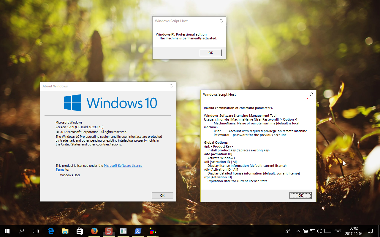 Windows 10 Redstone 3 1709 Build 16299 15 (RTM ?) - Hỏi