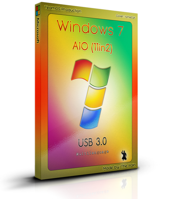 Windows 7 Sp1 AIO (x86/x64) 11in2 Multilanguage USB 3.0 Nov2017