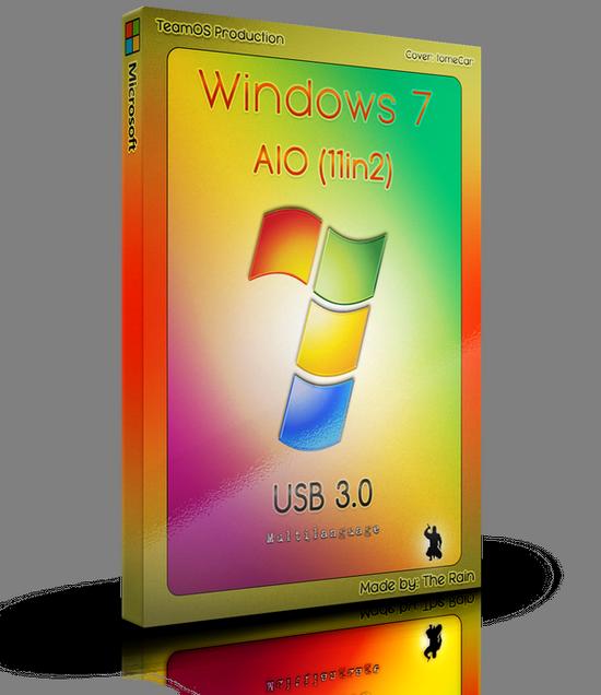 Windows 7 Sp1 AIO (x86/x64) 11in2 Multilanguage USB 3.0 Nov2017