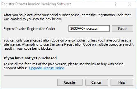 Express Invoice Invoicing Software Keygen