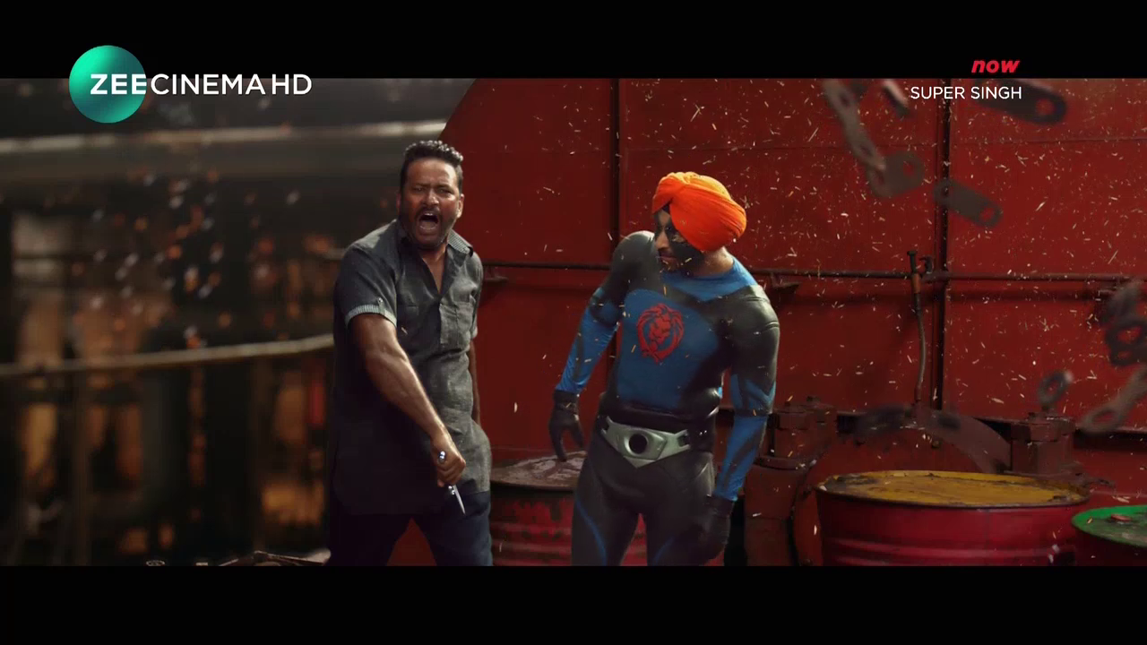 Super Singh (2018) Punjabi - 720p - DTH-HD - AVC - AAC-Team IcTv Exclusive