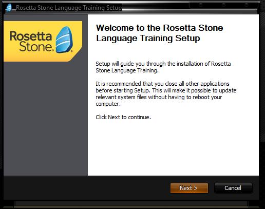 Rosetta Stone Program