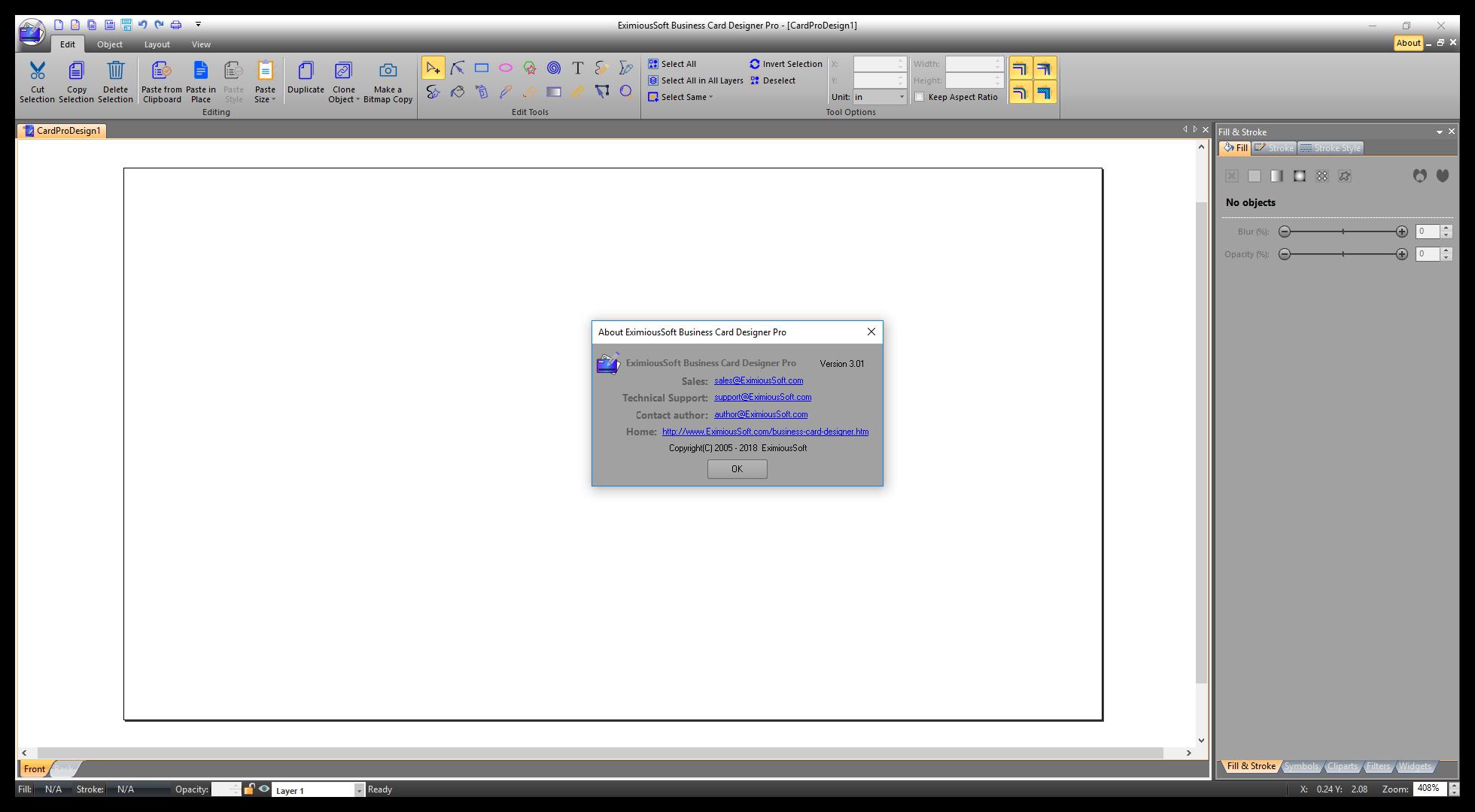 Direct - Eximioussoft Business Card Designer Pro 3.01 Portable ...