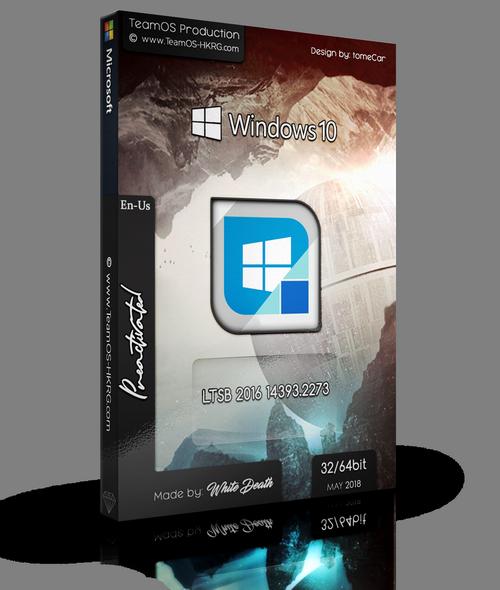 Windows 10 Enterprise LTSB v1607 (Build 14393 2273) 2in2 English