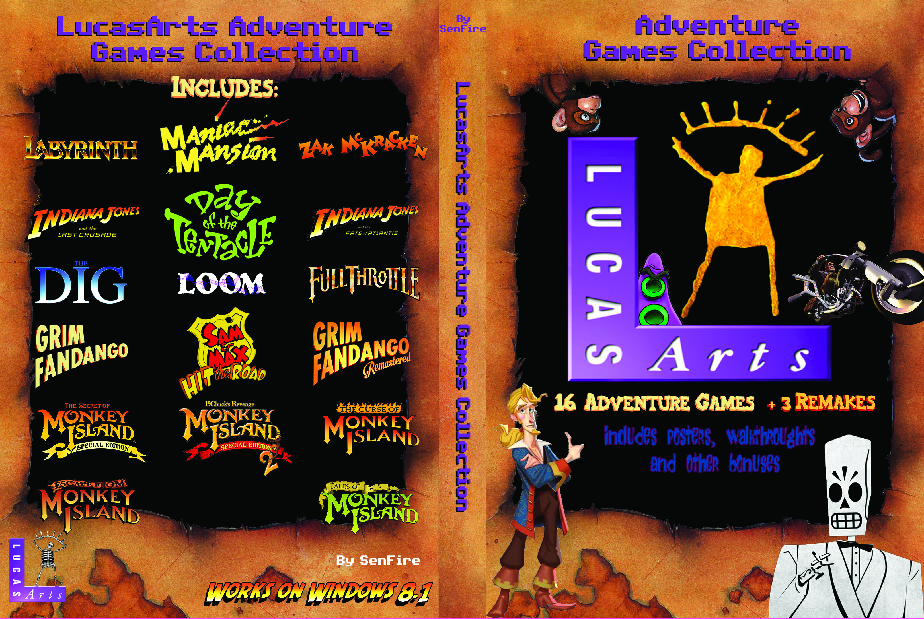 Lucasarts Collection v1.x (French) - OpenGL Fix