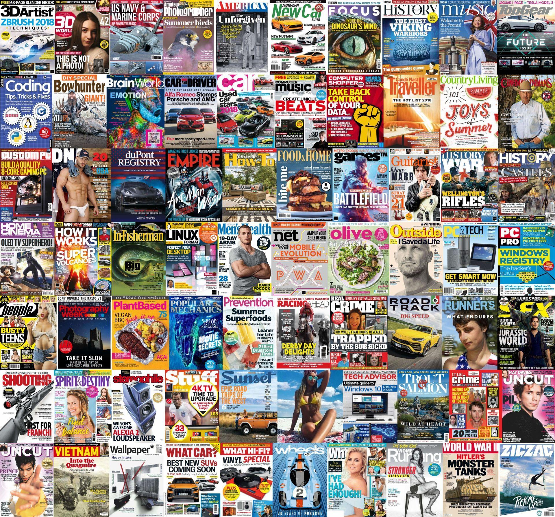 Torrent - Assorted Magazines - June 15, 2018 (true Pdf)   Team OS