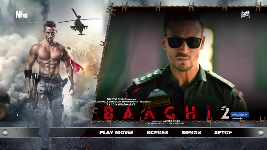 Baaghi 2 (2018) Untouched NTSC DVD9-DDR Exclusive