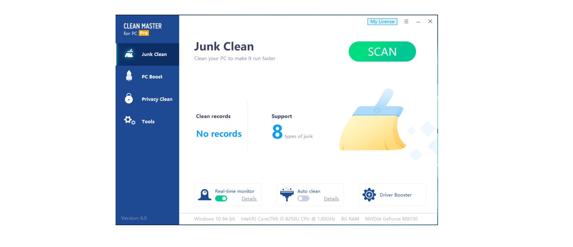 clean master pro for windows 10