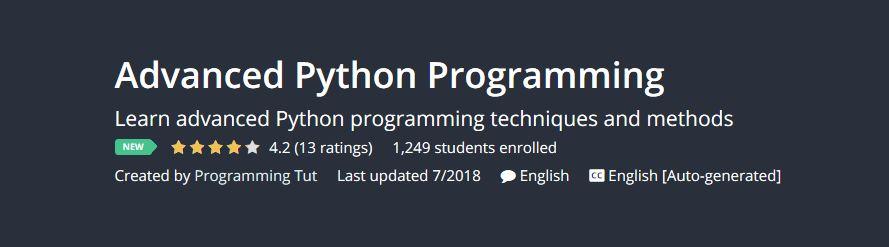 Locked - Advanced Python Programming (udemy) | Team OS