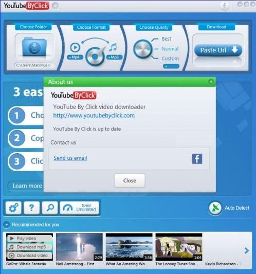 برنامج التحميل من اليوتيوب والفيسبوك وانستجرام YouTube By Click Premium 2.2.122  MzkkR