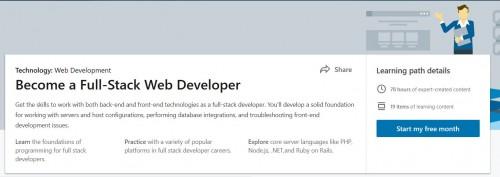 Tutorials - Lynda: Becoming A Full Stack Web Developer