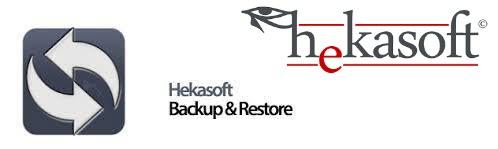 Resultado de imagen para Hekasoft Backup & Restore