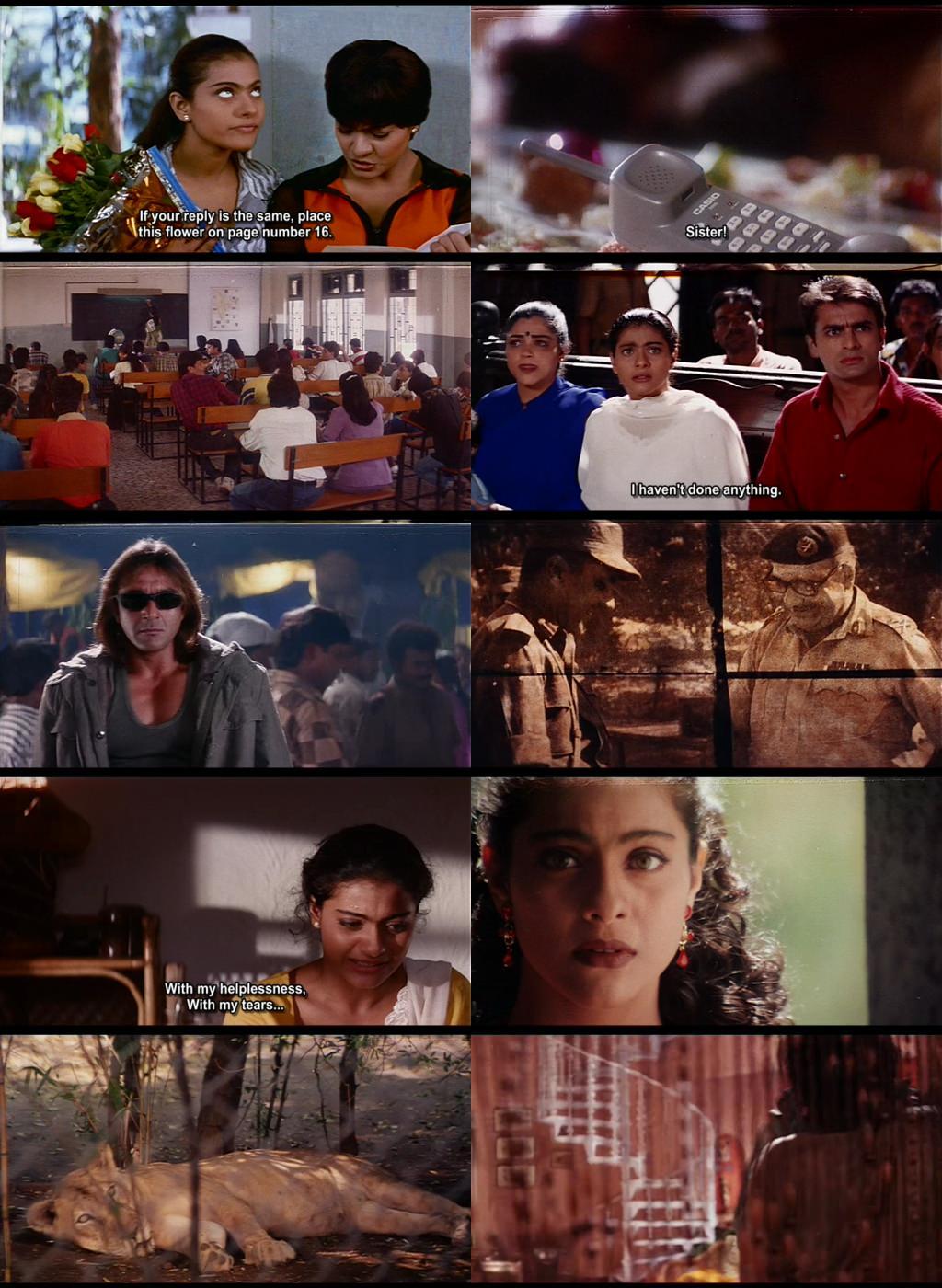 Kajol Filmography Hindi All Movies [DVDRip's - BDRip's] - BollywoodA2z