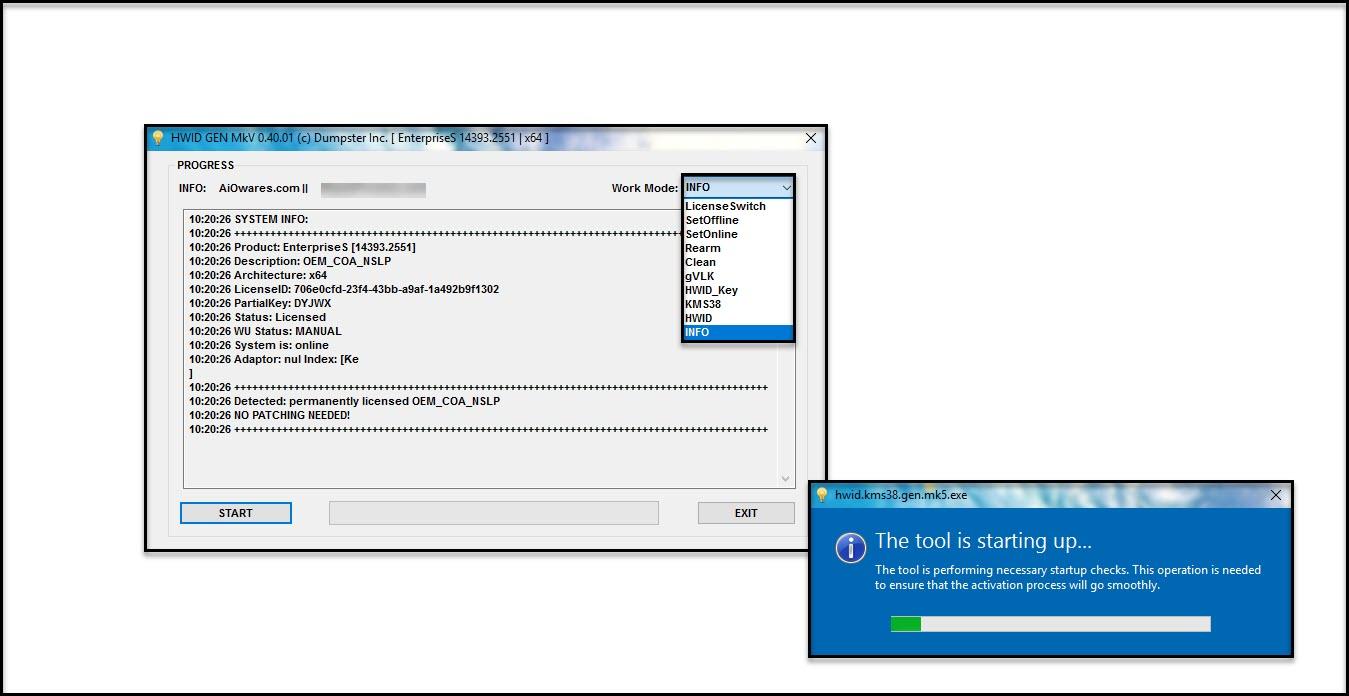 Direct - HWID Gen MKV & KMS38™ Gen v50 04 - Windows 10 Digital