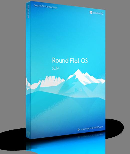 Round Flat Os [ Win10 Rs5 Pro X64 ]