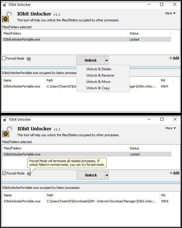 Direct - Iobit Unlocker version 1 1 2 1 Portable -=TeamOS