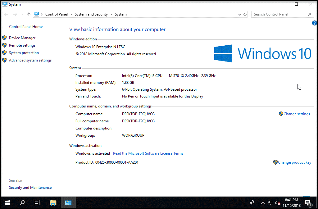 Torrent - Windows 10 Enterprise N 2019 LTSC 1809 Build 17763 107 Esd