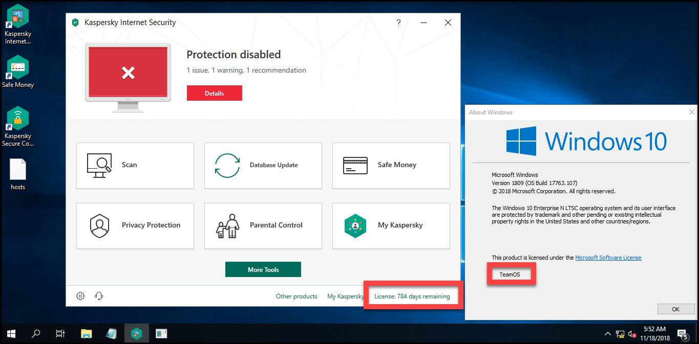 Direct - Kaspersky Internet Security 2019 version 19 0 0 1088