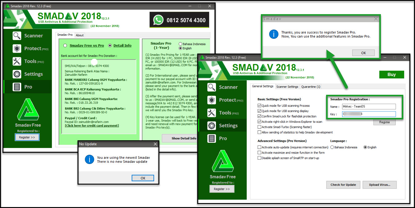 Direct - Smadav Pro 2018 version 12 4 2 -=TeamOS=- | Team OS