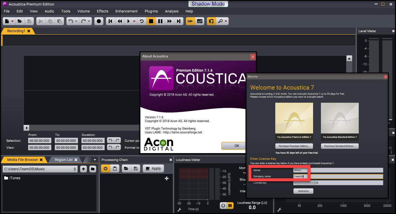 Direct - Acon Digital Media Acoustica Premium Version 7 1 6 (32 & 64