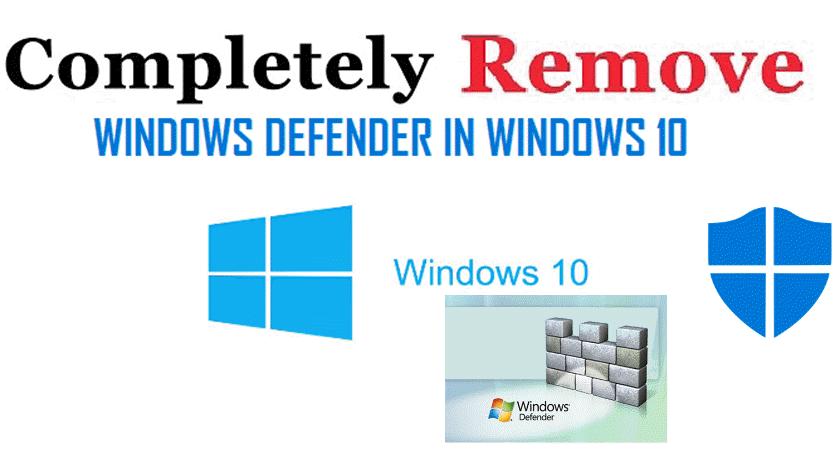 Direct - Remove Windows Defender version 4 0 -=TeamOS=- | Team OS