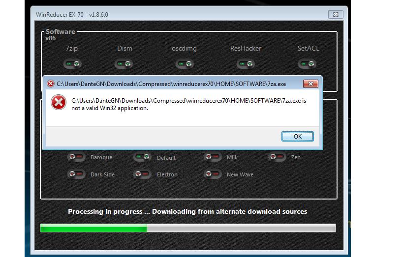 Winreucer software instalation Error.. M6KhH
