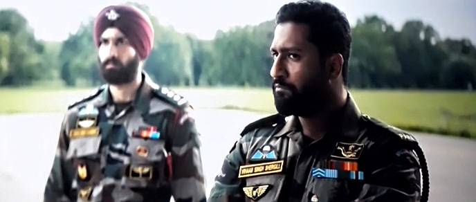Screenshot Of Watch Online Uri The Surgical Strike (2019) Full Movie Download Free Pdvdrip HQ