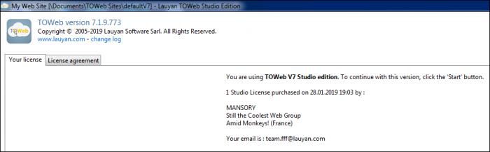 lauyan toweb studio edition