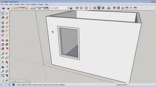 sketchup make screenshot 01