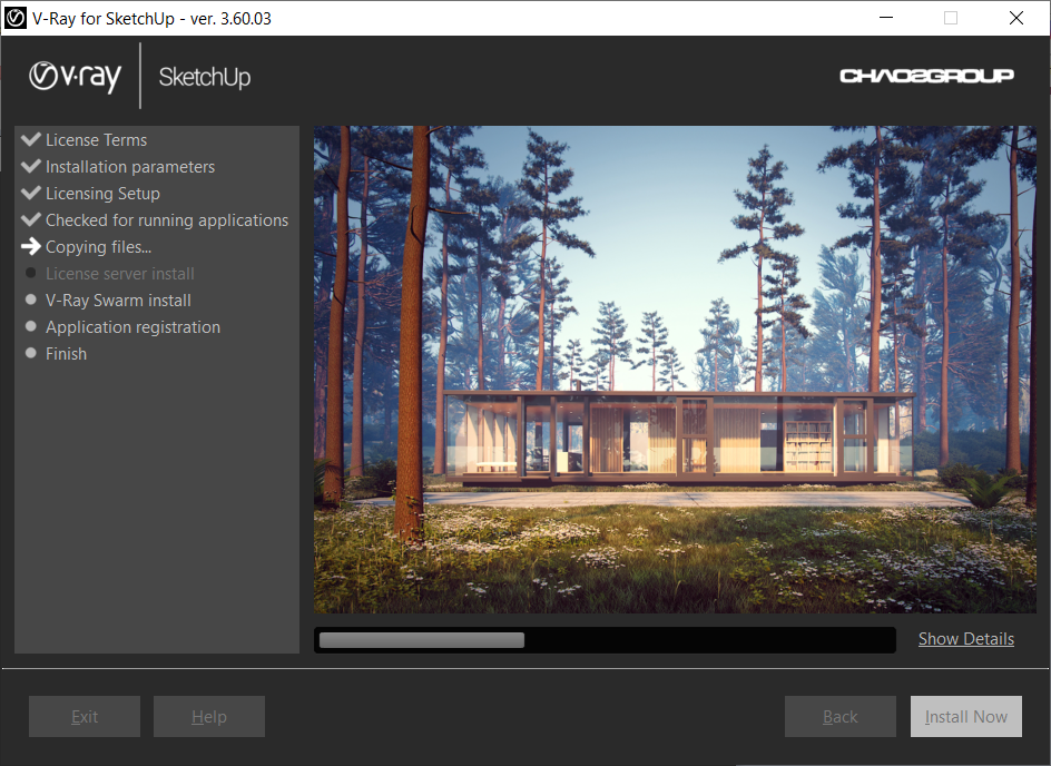 Direct - Chaos Group V-Ray 3 60 03 for SketchUp (Win x64) - TeamOS