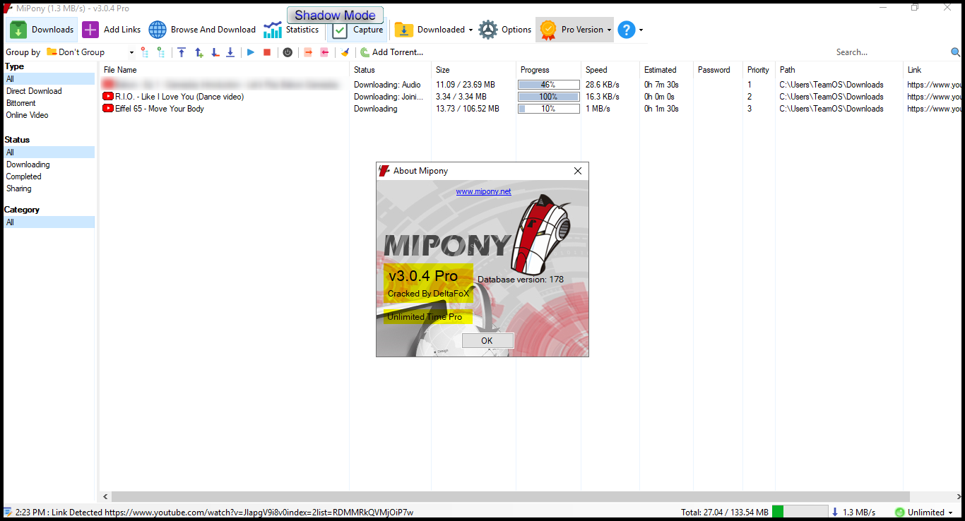 free download mipony