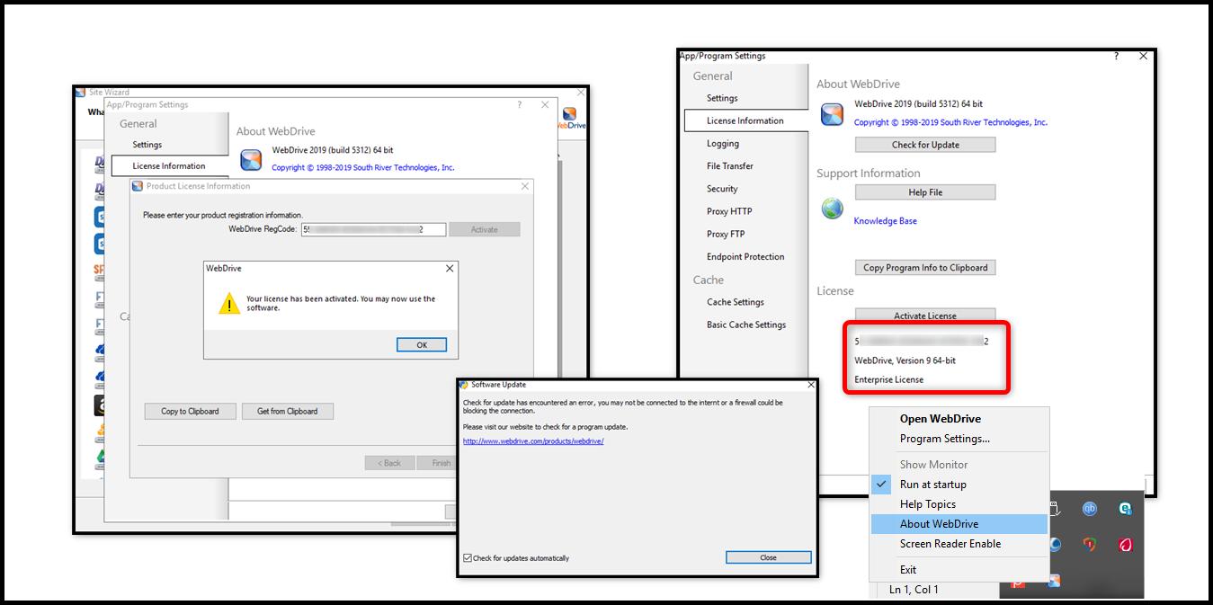 Resultado de imagen de WebDrive Enterprise 2019
